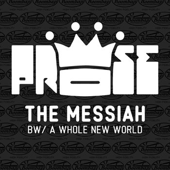 The Messiah b/w A Whole New World cover art