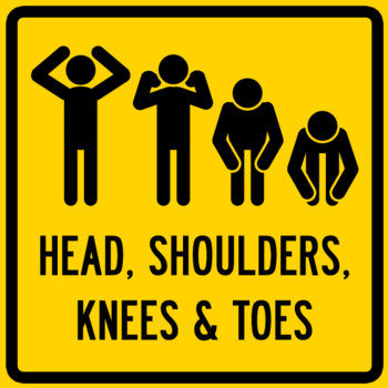 HEAD, SHOULDERS, KNEES & TOES EP cover art