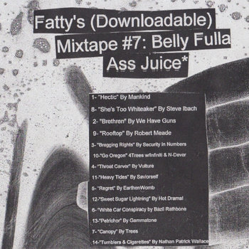 Fatty's Mixtape 7: Belly Fulla Ass Juice cover art