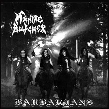 MANIAC BUTCHER - Barbarians cover art