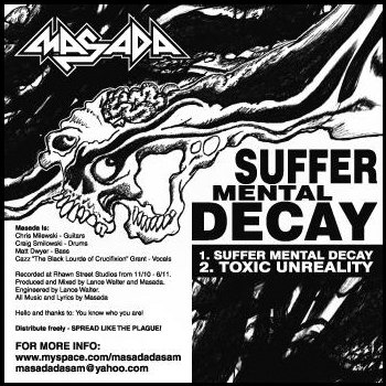 Suffer Mental Decay cover art