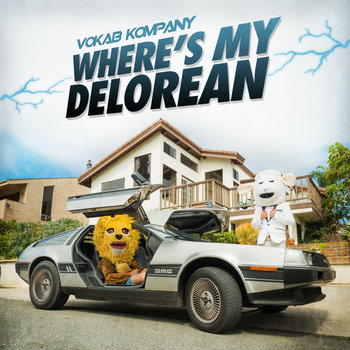 Where's My Delorean cover art