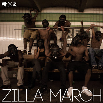 Zilla March - Single cover art