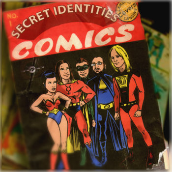 Secret Identities: Lansing Covers Lansing cover art