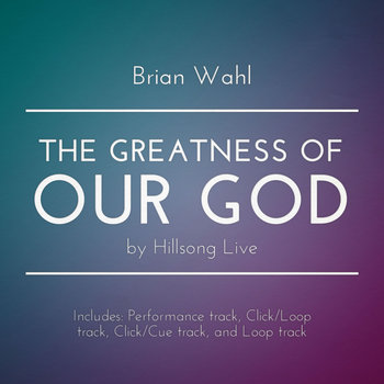 The Greatness Of Our God - w/ Click, Backing tracks cover art