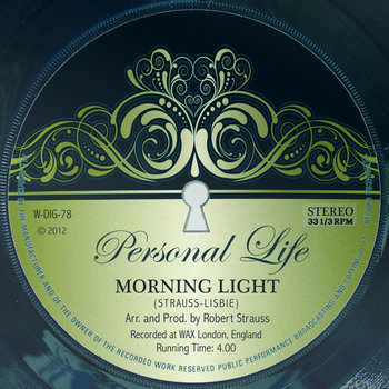 PERSONAL LIFE / Morning Light - UK Soul Chart # 1 cover art