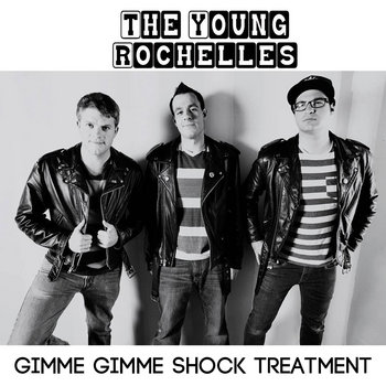 Gimme Gimme Shock Treatment (Ramones) cover art