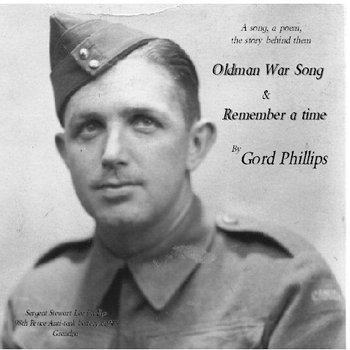 Oldman War Song - Rememberance Day single cover art