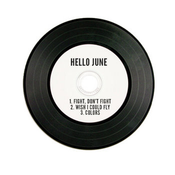 Hello June EP cover art