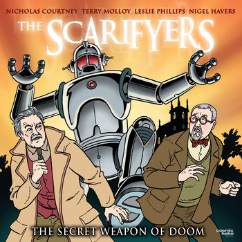 The Scarifyers: The Secret Weapon of Doom cover art