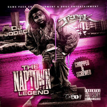 "Dj Jodeci: ""The Naptown Legend"" {D-Boy Remix} Purple Edition cover art"