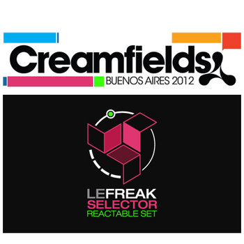 live at Creamfields cover art