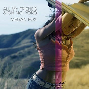 Megan Fox Single cover art