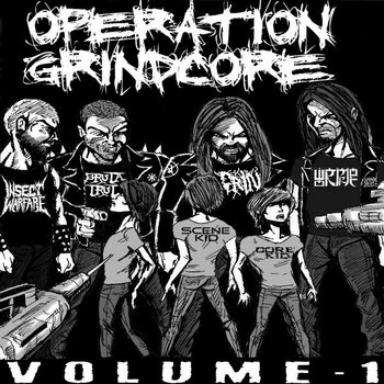 Operation Grindcore Vol. 1 cover art
