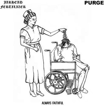 "JARHEAD FERTILIZER / PURGE split 7"" cover art"