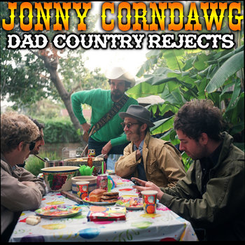 "Dad Country Rejects - 7"" record cover art"