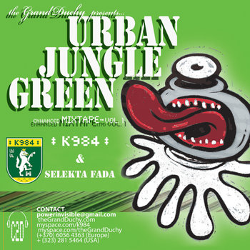 "URBAN JUNGLE GREEN vol.1 ""sonic burners part. two"" (feat. Rakaa Iriscience,Fat Hed..) cover art"