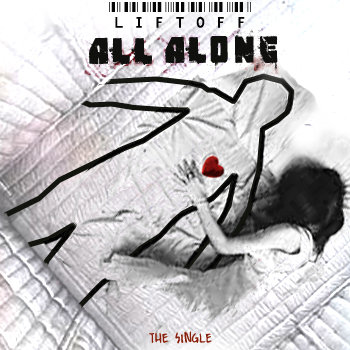 All alone (CD single) cover art