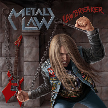 "METAL LAW ""Lawbreaker"" cover art"