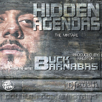 HIDDEN AGENDAS the mixtape cover art