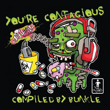 YOU'RE CONTAGIOUS! cover art