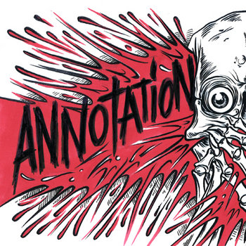 Annotation/Bent Cross - Split 7&quot; cover art
