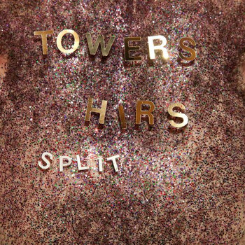 split postcard w/ TOWERS cover art
