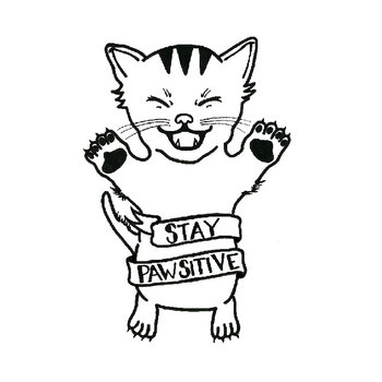 Stay Pawsitive cover art