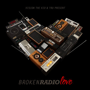 BrokenRadioLove cover art