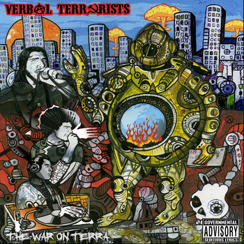 The War On Terra cover art