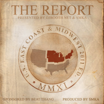 The Report presented by DJbooth &amp; SMKA cover art