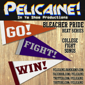 Bleacher Pride - Go! Fight! Win! cover art