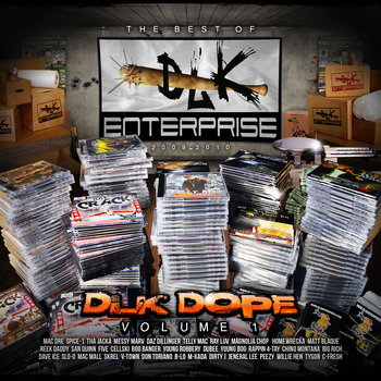 DLK Dope Vol. 1 cover art