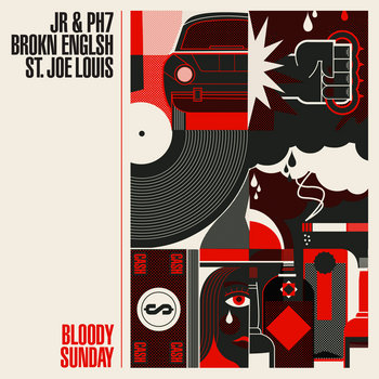 "Bloody Sunday 12"" cover art"