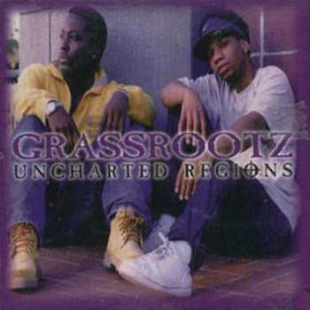 "Grassrootz ""Uncharted Regions"" cover art"