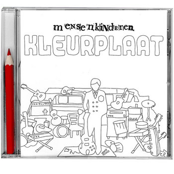 Kleurplaat cover art