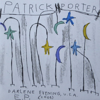 Darlene Evening, USA EP cover art