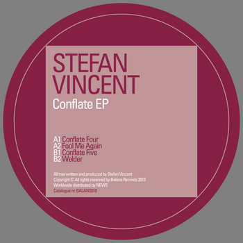 Stefan Vincent | Conflate EP | BALANS010 cover art