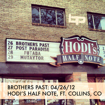 4/26/12 - Hodi's Half Note - Fort Collins, CO cover art