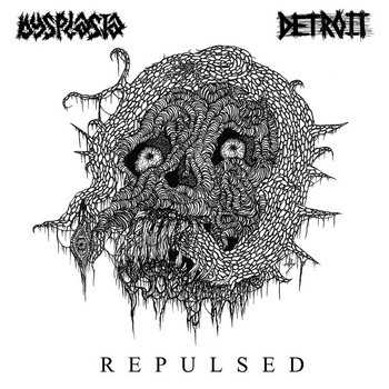 Detroit//Dysplasia Split cover art