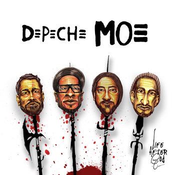 Depeche Moe cover art