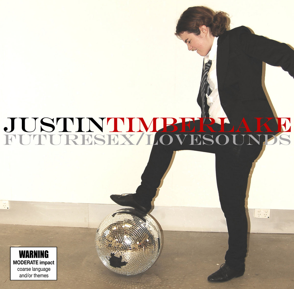 Futuresex Lovesounds Album Cover.