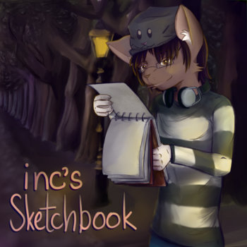 inc's Sketchbook cover art