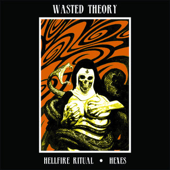 Wasted Theory / Jaw Horse Split cover art