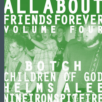 ALL ABOUT FRIENDS VOLUME 4 cover art