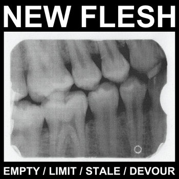 New Flesh / Mighty Atom Split cover art
