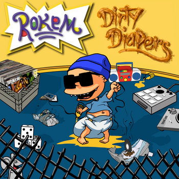Dirty Diapers EP cover art