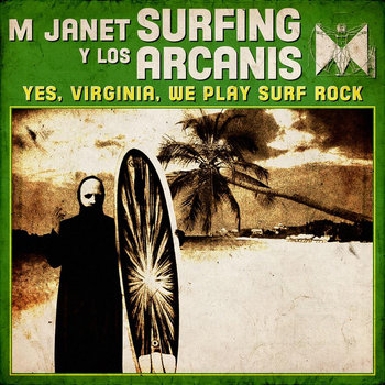 Yes, Virginia, We Play Surf Rock/Personnae: Doctor Who cover art
