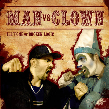 MAN vs CLOWN EP cover art