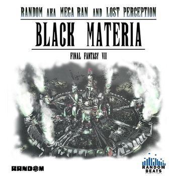 """Black Materia"" Instrumentals cover art"